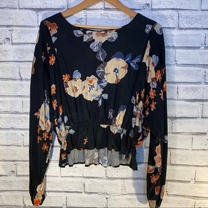 Gypsy Rose floral blouse JBOX